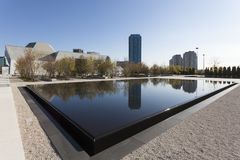 Το μουσείο Aga Khan στο Τορόντο, Καναδάς Στοκ εικόνα με δικαίωμα ελεύθερης χρήσης