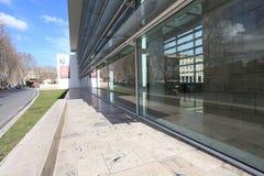 Το μουσείο Ara Pacis Augustae στη Ρώμη Στοκ εικόνα με δικαίωμα ελεύθερης χρήσης