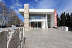 Το μουσείο Ara Pacis Augustae στη Ρώμη Στοκ φωτογραφία με δικαίωμα ελεύθερης χρήσης