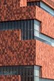 Το μουσείο MAS, Αμβέρσα, Βέλγιο Στοκ φωτογραφίες με δικαίωμα ελεύθερης χρήσης