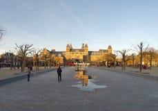 Το μουσείο Rijsk απεικονίζει Στοκ φωτογραφία με δικαίωμα ελεύθερης χρήσης