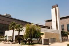 Το μουσουλμανικό τέμενος πανεπιστημιουπόλεων του πανεπιστημίου βασιλιάδων Αμπντουλάχ της επιστήμης και της τεχνολογίας, Thuwal, Σ στοκ εικόνα