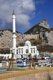 Το μουσουλμανικό τέμενος στο σημείο της Ευρώπης είναι το πρώτο ή τελευταίο μουσουλμανικό τέμενος στην Ευρώπη Στοκ Εικόνα