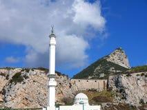 Το μουσουλμανικό τέμενος στο σημείο της Ευρώπης είναι το πρώτο ή τελευταίο μουσουλμανικό τέμενος στην Ευρώπη Στοκ εικόνες με δικαίωμα ελεύθερης χρήσης