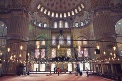 Το μουσουλμανικό τέμενος του Ahmed σουλτάνων Στοκ Εικόνες