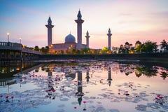 Το μουσουλμανικό τέμενος Tengku Ampuan Jemaah Στοκ φωτογραφία με δικαίωμα ελεύθερης χρήσης
