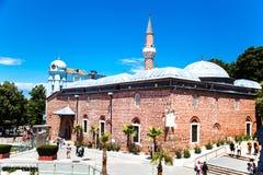 Το μουσουλμανικό τέμενος Djumaya Ulu σε PLOVDIV, ΒΟΥΛΓΑΡΊΑ Στοκ Φωτογραφία