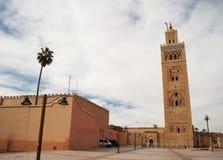 Μουσουλμανικό τέμενος Koutubia στο Μαρακές (Μαρόκο) Στοκ φωτογραφίες με δικαίωμα ελεύθερης χρήσης