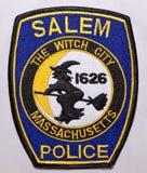 Το μπάλωμα ώμων της Αστυνομίας του Σάλεμ στη Μασαχουσέτη στοκ εικόνα