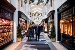 Το Μπέρλινγκτον Arcade στο Λονδίνο Στοκ εικόνα με δικαίωμα ελεύθερης χρήσης