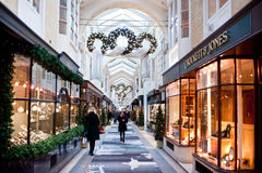 Το Μπέρλινγκτον Arcade στο Λονδίνο Στοκ Φωτογραφία