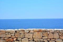Το μπαλκόνι στη θάλασσα Στοκ Εικόνες