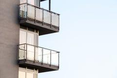 Το μπαλκόνι Στοκ φωτογραφία με δικαίωμα ελεύθερης χρήσης