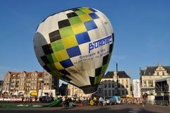 Το μπαλόνι παρουσιάζει, αίθουσα sint-Niklaas πόλεων Στοκ φωτογραφία με δικαίωμα ελεύθερης χρήσης