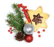 το μπισκότο Χριστουγέννων βρίσκει ότι οι εικόνες φαίνονται περισσότερο οι ίδιες σειρές χαρτοφυλακίων μου Στοκ Εικόνες