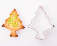 το μπισκότο Χριστουγέννων βρίσκει ότι οι εικόνες φαίνονται περισσότερο οι ίδιες σειρές χαρτοφυλακίων μου στοκ φωτογραφία