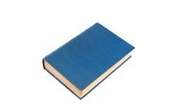 το μπλε βιβλίο απομόνωσε το λευκό Στοκ Φωτογραφίες