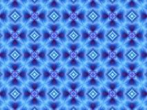 Το μπλε και η πορφύρα επαναλαμβάνουν το γεωμετρικό σχέδιο Στοκ εικόνες με δικαίωμα ελεύθερης χρήσης