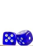 το μπλε χωρίζει σε τετράγωνα Στοκ φωτογραφία με δικαίωμα ελεύθερης χρήσης