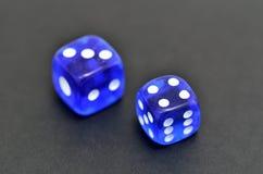 Το μπλε χωρίζει σε τετράγωνα Στοκ Φωτογραφίες