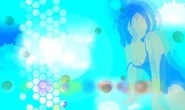 το μπλε 4 προκαλεί ελεύθερη απεικόνιση δικαιώματος