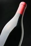 το μπουκάλι βούλωσε το κόκκινο κρασί Στοκ φωτογραφίες με δικαίωμα ελεύθερης χρήσης