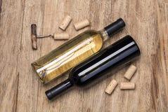 το μπουκάλι βουλώνει τ&omicron Στοκ Φωτογραφίες