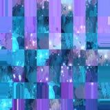 Το μπλε λάμπει διανυσματικό υπόβαθρο τετραγώνων Στοκ εικόνα με δικαίωμα ελεύθερης χρήσης