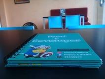 Το μπλε βιβλίο στοκ εικόνα με δικαίωμα ελεύθερης χρήσης