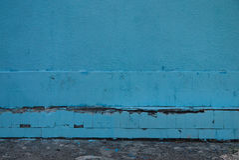 Το μπλε κεραμίδι Στοκ Εικόνα