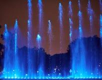 Το μπλε νερό πηγών παρουσιάζει Στοκ φωτογραφία με δικαίωμα ελεύθερης χρήσης