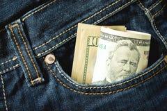 το μπλε δολάριο εννοιών COM επιχειρησιακής στενό συλλογής colldet6117 dreamstime χρηματοδοτεί τα χρήματα τζιν εικόνων HTTP ισχίων Στοκ Εικόνες