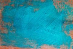 Το μπλε χρώμα σύρει Στοκ Εικόνες