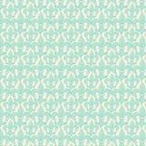 Το μπλε Fleur-de-Lis επαναλαμβάνει το άνευ ραφής σχέδιο Στοκ Εικόνα