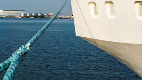 Το μπλε towline Στοκ εικόνες με δικαίωμα ελεύθερης χρήσης