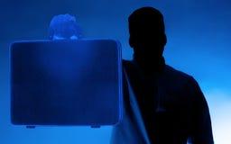Το μυστήριο πρόσωπο Στοκ φωτογραφίες με δικαίωμα ελεύθερης χρήσης