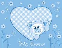 το μωρό αντέχει το αγόρι teddy Στοκ εικόνα με δικαίωμα ελεύθερης χρήσης
