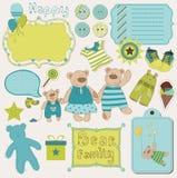 το μωρό αντέχει το οικογ&epsil Στοκ εικόνα με δικαίωμα ελεύθερης χρήσης