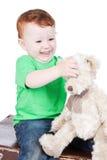 το μωρό αντέχει το παιχνίδι &al Στοκ φωτογραφία με δικαίωμα ελεύθερης χρήσης