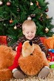 το μωρό αντέχει το παιχνίδι &Ch στοκ εικόνες
