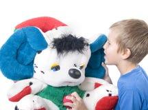 το μωρό αντέχει teddy Στοκ Εικόνα