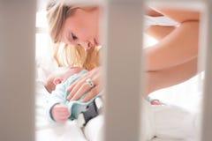 Το μωρό κοιμάται Στοκ Εικόνα