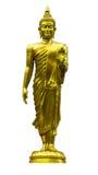 Το μόνιμο άγαλμα του Βούδα που απομονώνεται Στοκ Εικόνα
