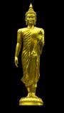 Το μόνιμο άγαλμα του Βούδα που απομονώνεται Στοκ εικόνα με δικαίωμα ελεύθερης χρήσης