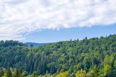 Το μόνο σπίτι στο λόφο Στοκ φωτογραφίες με δικαίωμα ελεύθερης χρήσης