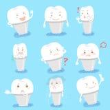 Το μόσχευμα δοντιών κάνει το διαφορετικό emoji Στοκ φωτογραφία με δικαίωμα ελεύθερης χρήσης