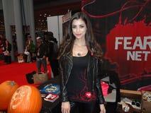 Το 2013 Νέα Υόρκη κωμικό Con: LeeAnna Vamp 2 Στοκ εικόνα με δικαίωμα ελεύθερης χρήσης