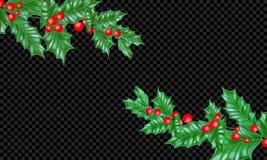 Το νέο έλατο έτους προτύπων υποβάθρου ευχετήριων καρτών διακοπών Χριστουγέννων ή το δέντρο πεύκων διακλαδίζονται και το στεφάνι φ Στοκ φωτογραφία με δικαίωμα ελεύθερης χρήσης
