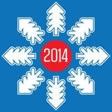 Το νέο έτος 2014 έρχεται σύντομα Στοκ φωτογραφίες με δικαίωμα ελεύθερης χρήσης