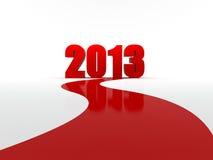 Το νέο έτος έρχεται Στοκ Φωτογραφίες
